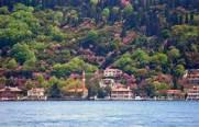 The Bosporus turning pink